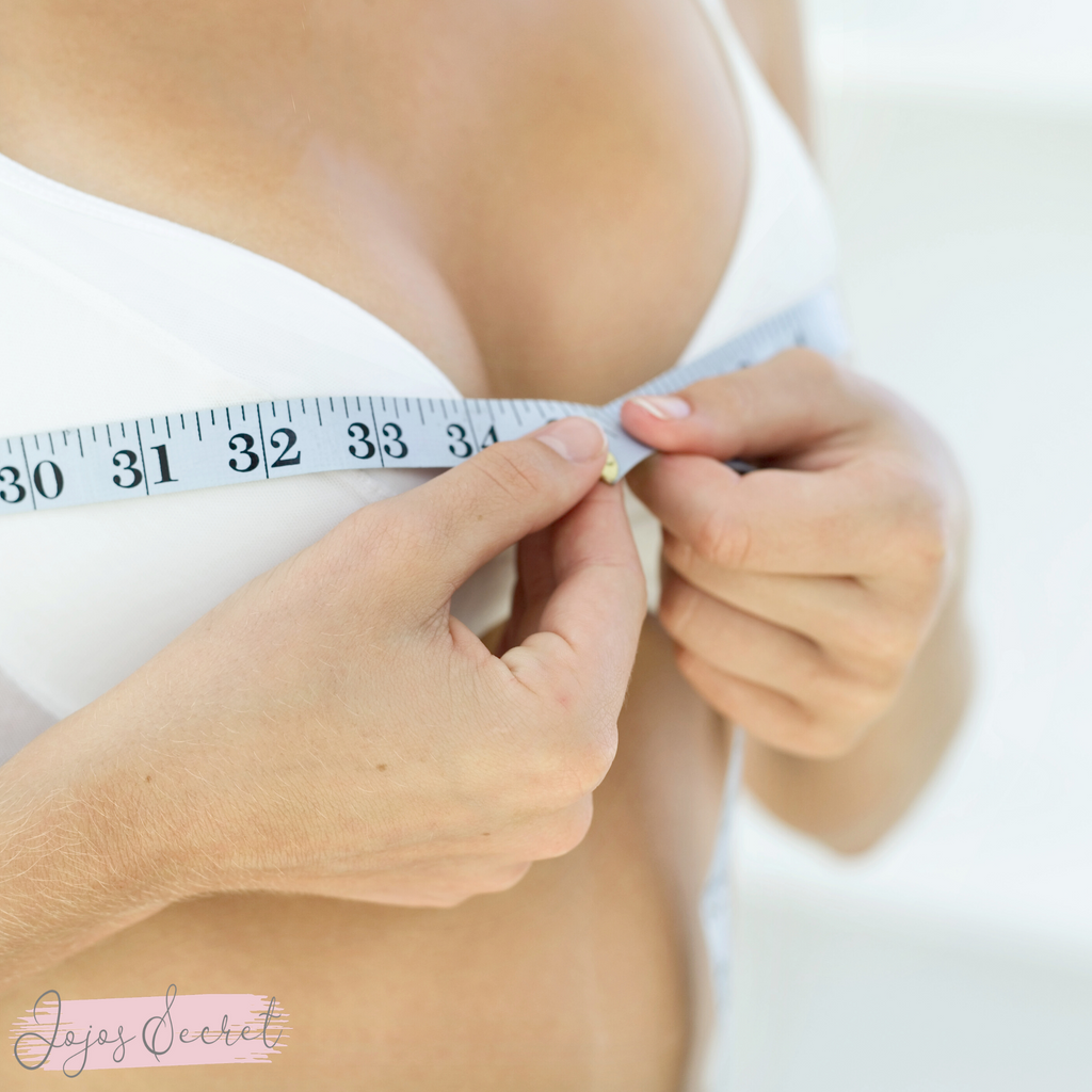 How to measure my bra size? Am I wearing the right size bra. How do I take bra measurements at Jojo's Secret.