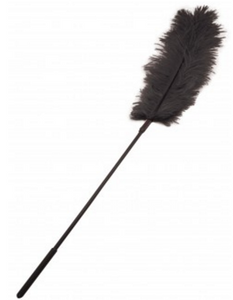 Sportsheets Ostrich Tickler Black