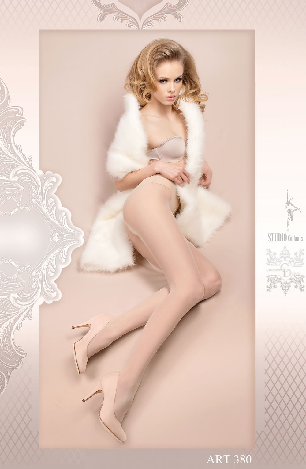 Ballerina 380 Tights Bianco (White)