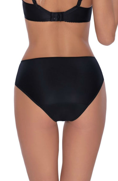 Roza | Ambre Boxer Brief | Black | Small, Medium, Large, XLarge | 8, 10, 12, 14, 16 | Sexy Lingerie Boutique | Flattering Knickers