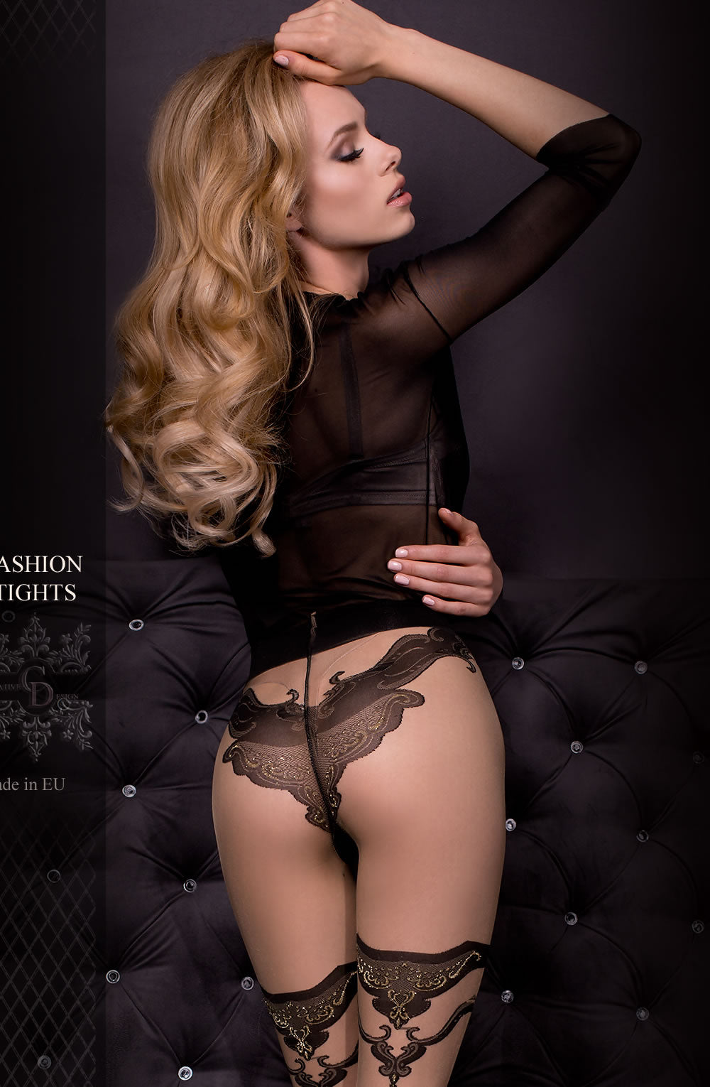 Ballerina 308 Tights Nero (Black) / Skin
