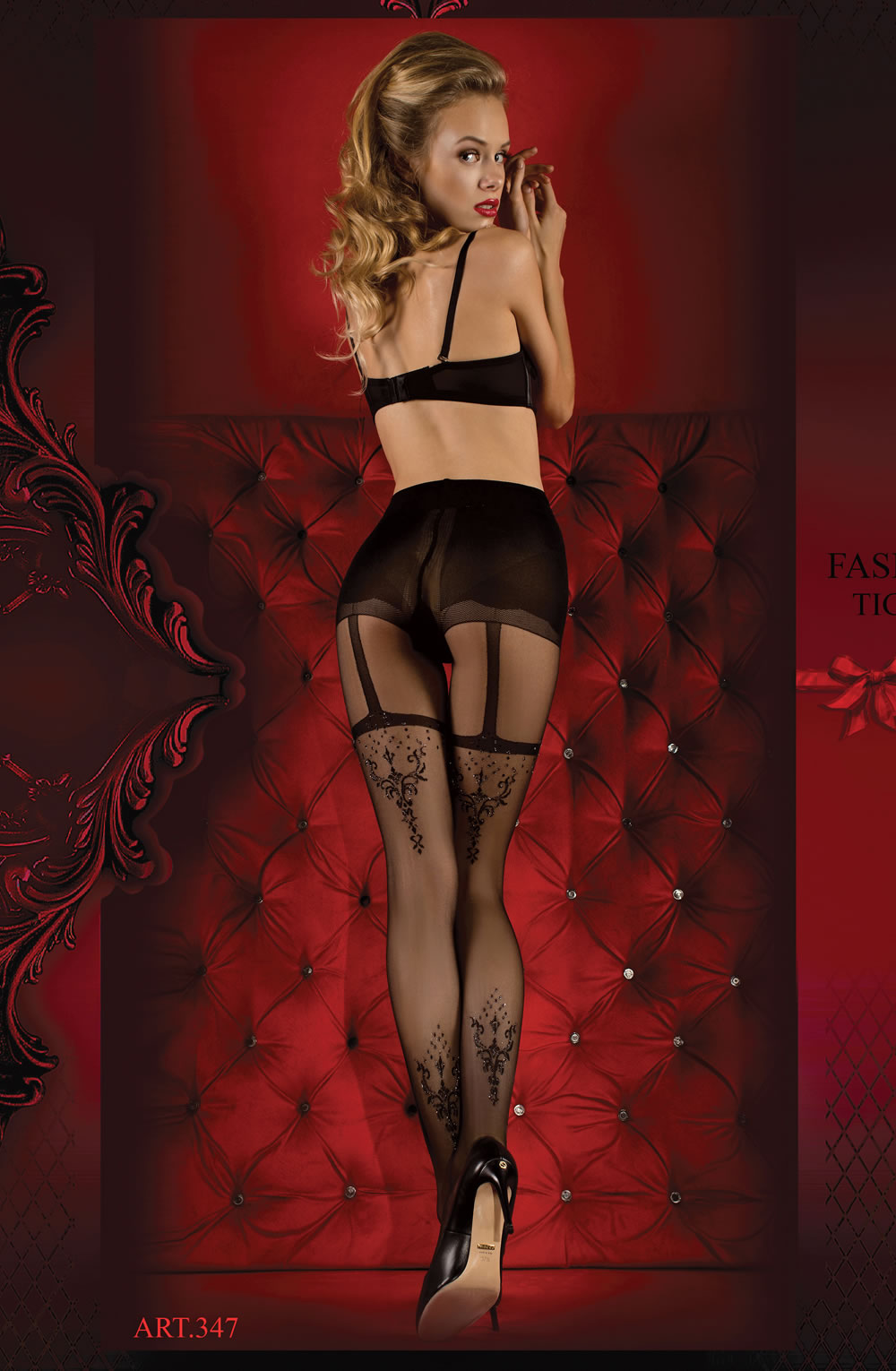 Ballerina 347 Tights Nero (Black)