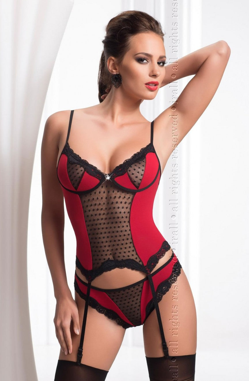 Irall Erotic Fiona Black/Red