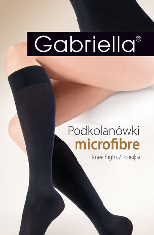 Microfibre 501 Knee Highs Grafit
