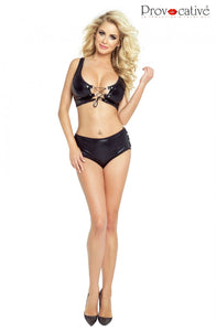 Sexy 2pc Set Black - PR4884