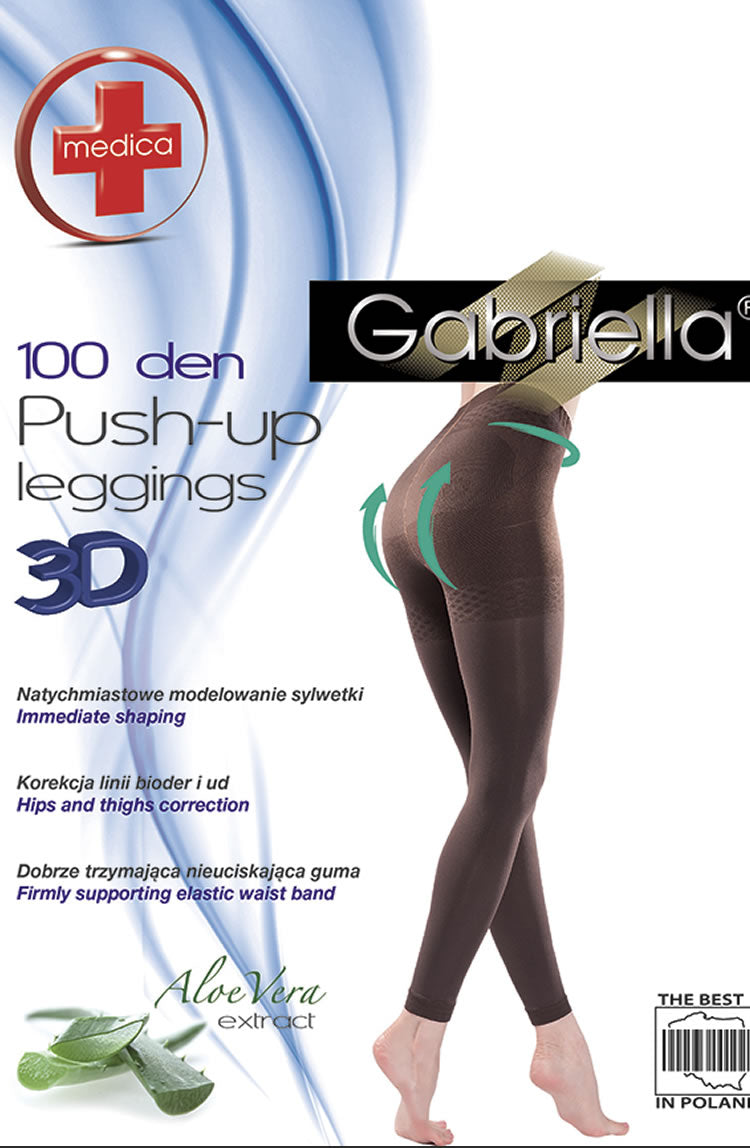 Gabriella Push Up Leggings 172 Hazel
