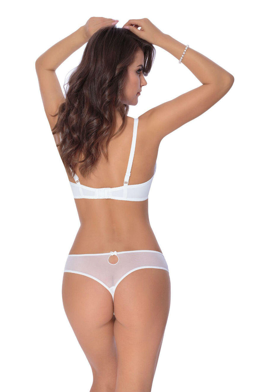 Roza Kalisi Push Up Bra White