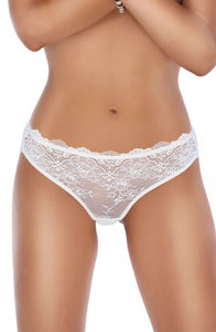 Roza Mela Brief Cream or Black