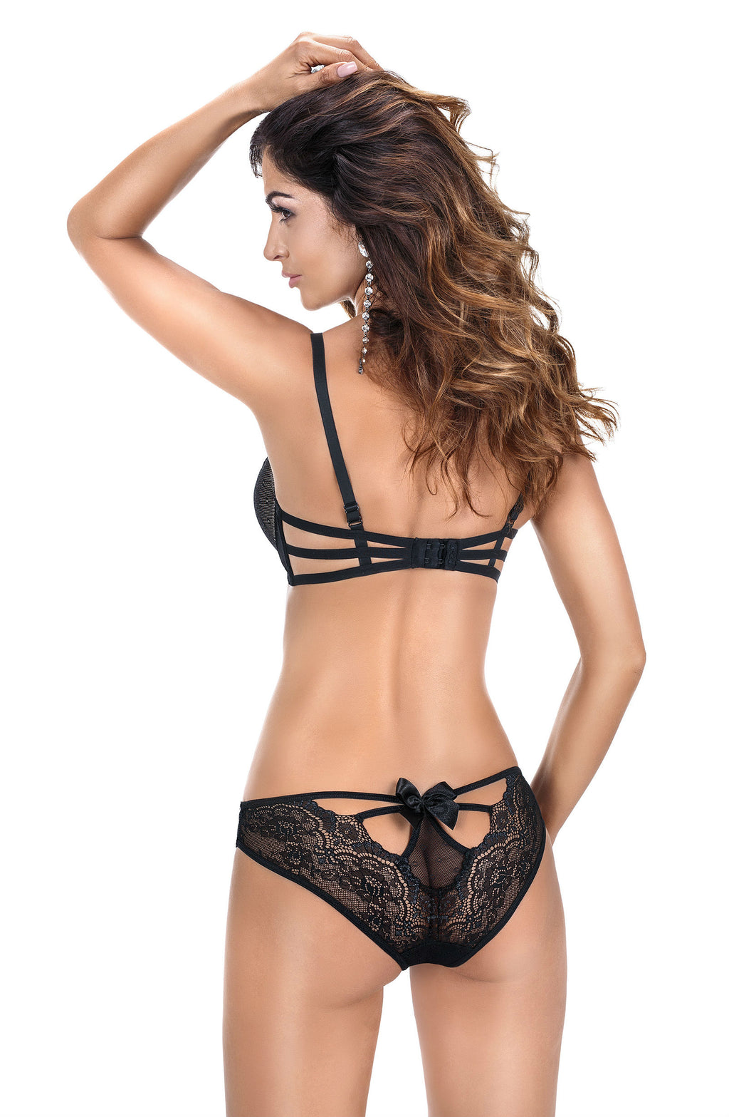 Roza Zulaj Push Up Bra Black