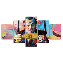 Wolf Of Wall Street 5 Piece HD Multi Panel Canvas Wall Art Frame