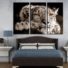 Bored Tiger 3 Piece HD Multi Panel Canvas Wall Art Frame