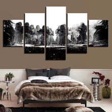 Many Star Wars 5 Piece HD Multi Panel Canvas Wall Art Frame