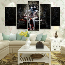 Abstract Art 5 Piece HD Multi Panel Canvas Wall Art Frame