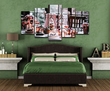 Beautiful Tableware 5 Piece HD Multi Panel Canvas Wall Art Frame