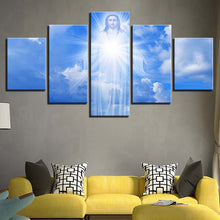 Jesus Is Coming 5 Piece HD Multi Panel Canvas Wall Art Frame