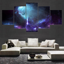 Animal Deer 5 Piece HD Multi Panel Canvas Wall Art Frame