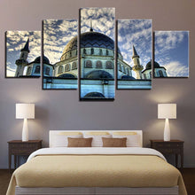 Mosque Islamic 5 Piece HD Multi Panel Canvas Wall Art Frame