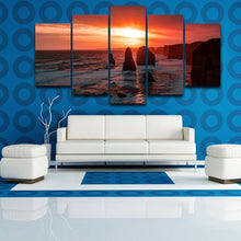 The Twelve Apostles 5 Piece HD Multi Panel Canvas Wall Art Frame