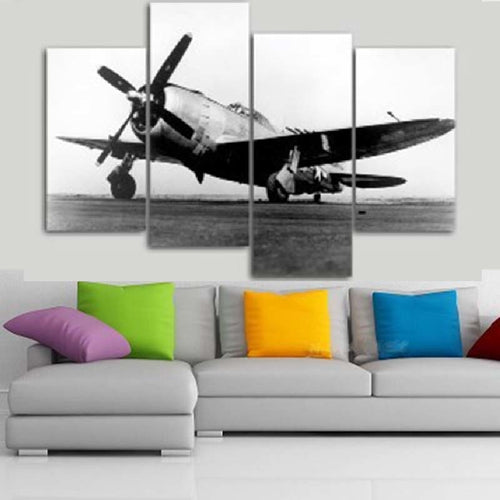 Ancient Flight 4 Piece HD Multi Panel Canvas Wall Art Frame