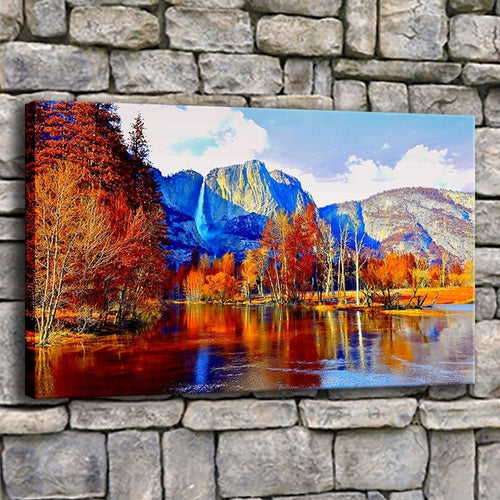 Beautiful Scenery 1 Piece HD Multi Panel Canvas Wall Art Frame