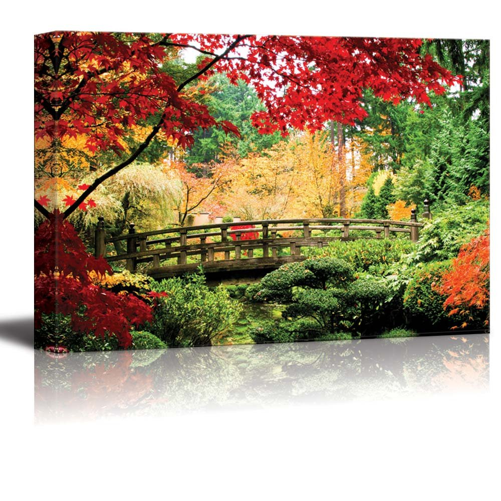 Beautiful Bridge 1 Piece HD Multi Panel Canvas Wall Art Frame