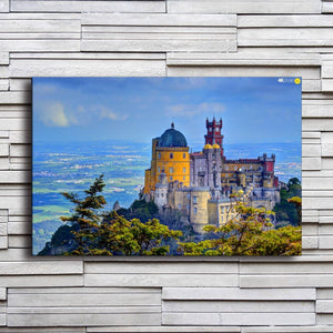 Palacio Da Pena National Palace 1 Piece HD Multi Panel Canvas Wall Art Frame