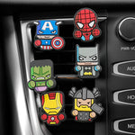 3pcs/set Marvel Avengers Hero Automobile Car Vent Perfum