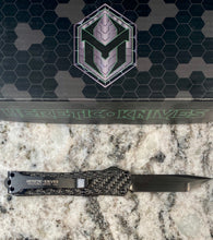 Load image into Gallery viewer, Heretic knives manticore S full carbon fiber with hand ground tanto blade