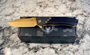 Heretic Knives manual wraith Ti -nitride