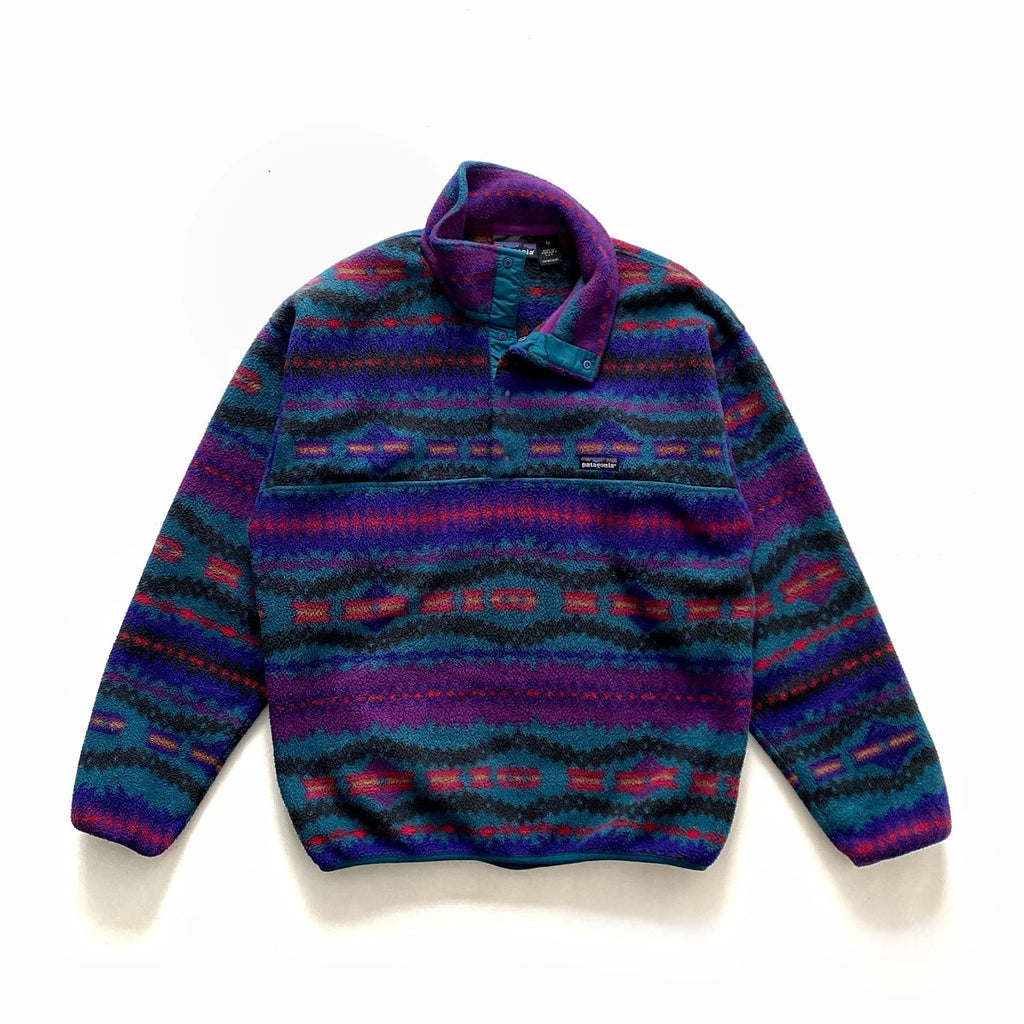 Vintage Patagonia Aztec Snap-T Synchilla Fleece