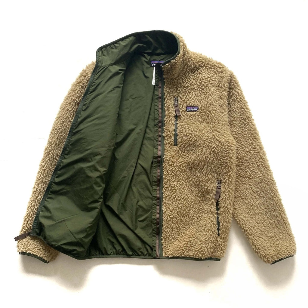 Patagonia Cream Retro X Fleece Cardigan