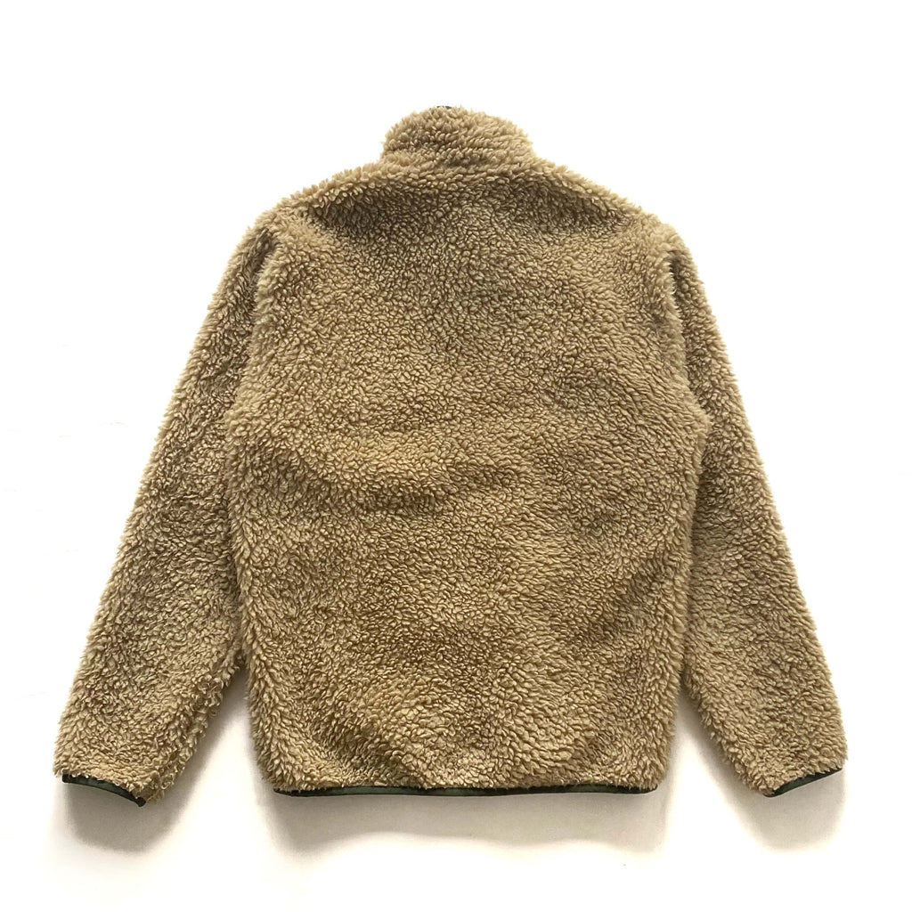 Patagonia Fall '13 Cream Deep Pile Retro X Fleece Cardigan