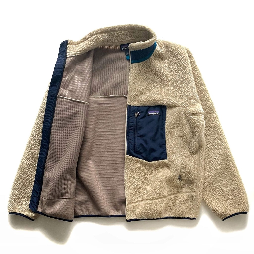 Patagonia Cream Retro X Fleece Jacket