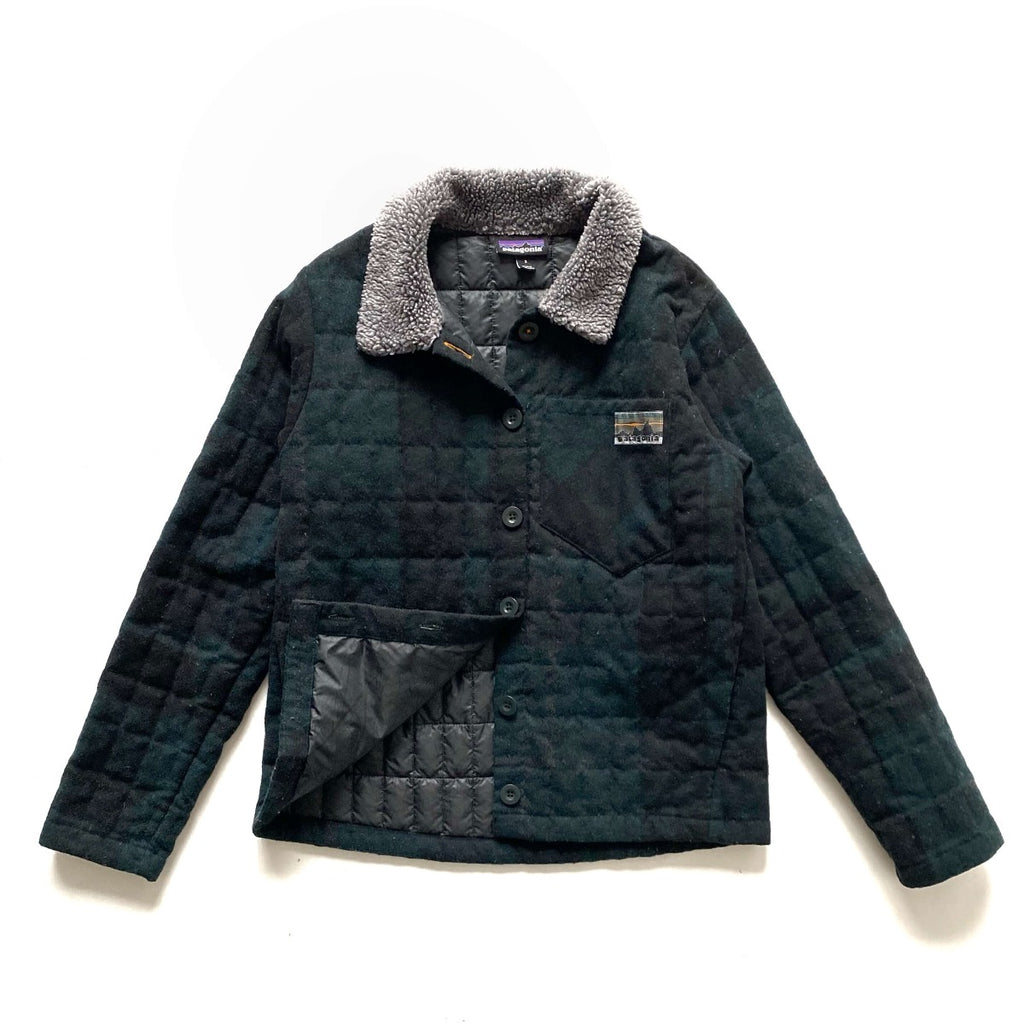 Patagonia Exclusive Recycled Down Wool Jacket