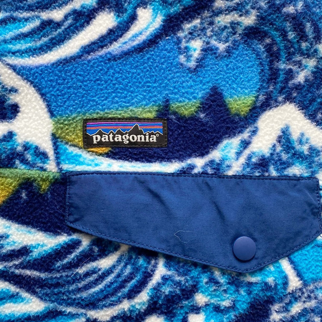 Patagonia Fitzroy Wave Snap-T Synchilla Fleece