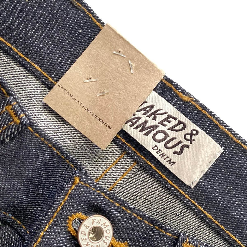 Naked & Famous Denim Super Guy Left Hand Twill Selvedge Denim