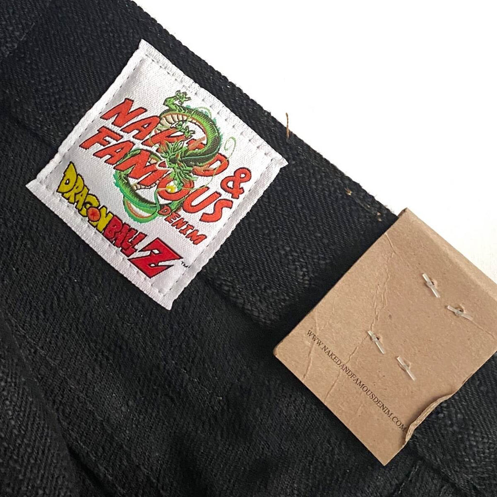 Naked & Famous Denim Super Guy Trunks Future Selvedge Denim