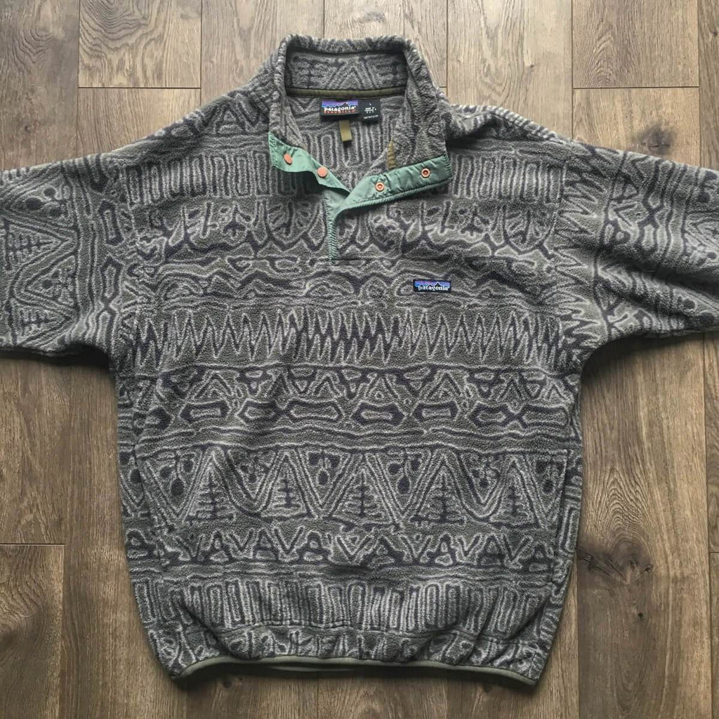 Vintage Patagonia Snap-T Synchilla Fleece Pullover Jacket