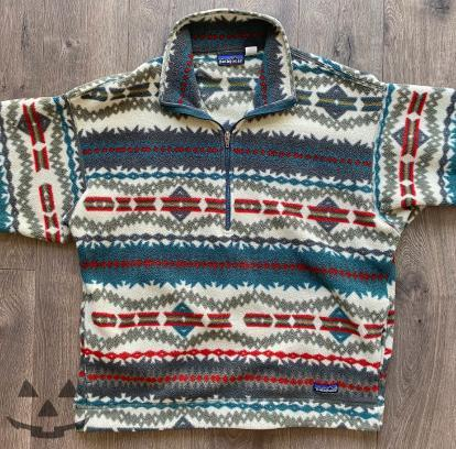Vintage Patagonia Aztec Synchilla Fleece