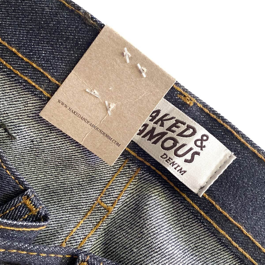 Naked & Famous Denim Weird Guy Left Hand Twill Selvedge Denim
