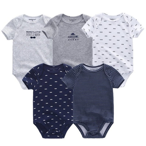 5PCS/LOT Baby Rompers