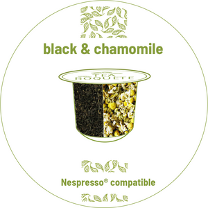 Black & Chamomile Tea Nespresso® compatible Tea pods Nespresso® compatible Tea Boquete
