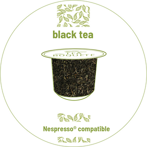 Black tea nespresso® compatible -