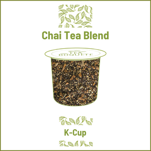 Chai blend tea  pods for Keurig brewers K-Cup compatible capsules