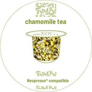 chamomile pods for Nespresso brewers originalline compatible capsules