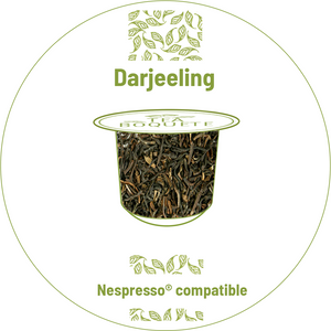 Darjeeling black tea nespresso® compatible -