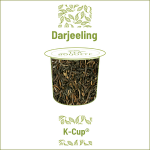 Darjeeling black tea  pods for Keurig brewers K-Cup compatible capsules