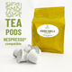 Rooibos vanilla tea Nespresso® compatible - Pack of 20 pods