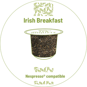 Irish Breakfast tea pods Nespresso® compatible -