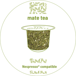 Mate tea pods nespresso® compatible -